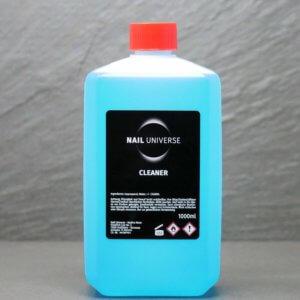 Cleaner 1 Liter blau. Auf dem Bild sieht man eine Flasche Cleaner in der Farbe Blau.