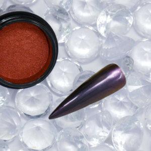 FlipFlop violet n orange Pigment mit Tip
