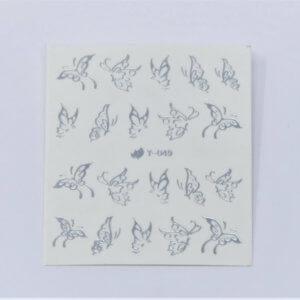 Nail Tattoo Animal Nr.11