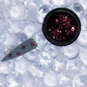 schwarzer Tiegel mit Sequin Red und Tip