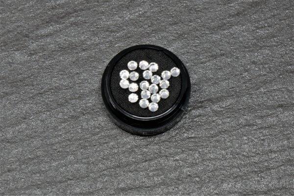 Strasssteine White Brilliance 3,0 mm